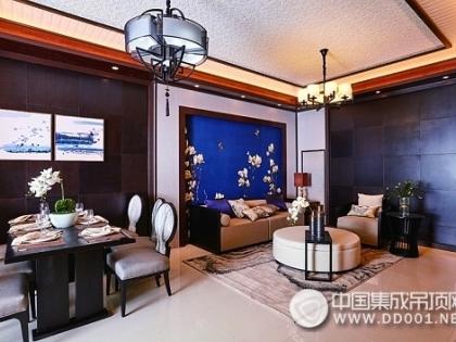 鼎美顶墙中式客厅系列