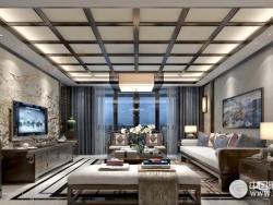 欧斯迪风格吊顶全屋系列之客厅产品
