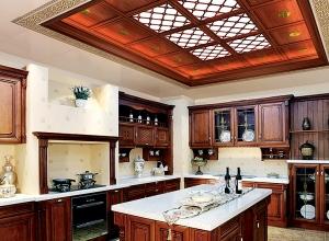 300平别墅中式风格装修效果图赏析,奇力中式风格装修案例