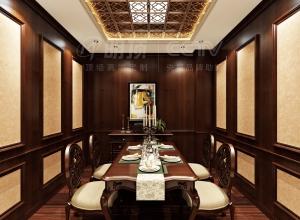 十种风格的餐厅吊顶装修实例图赏析,明顶餐厅吊顶装修图