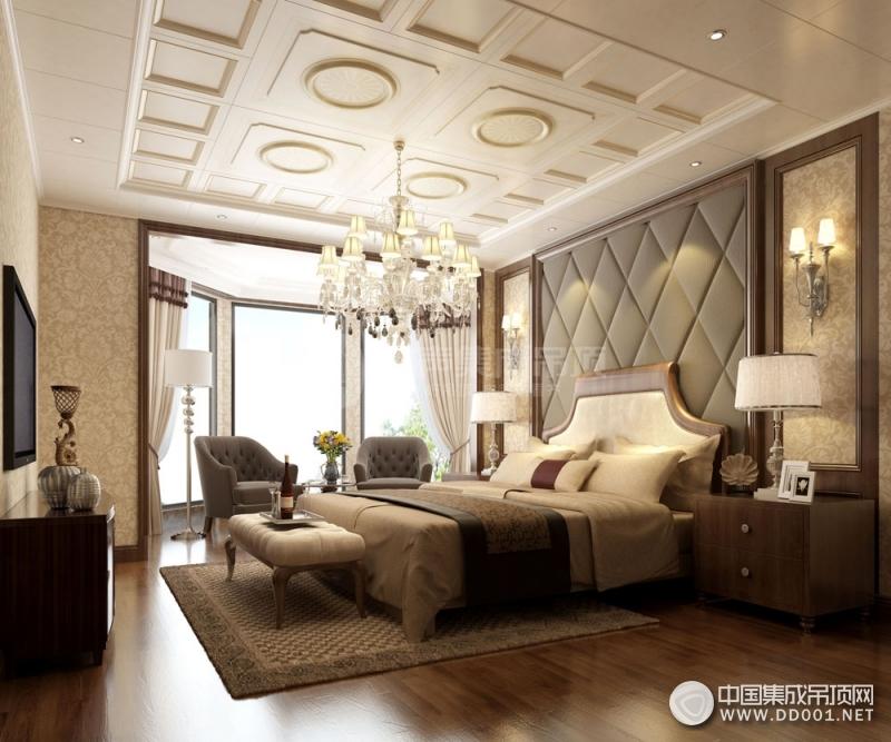 简欧风格装修效果图,容声吊顶欧式风格装修案例