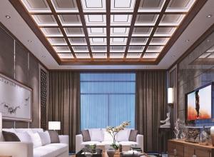 立诺法恩莎吊顶新客厅装修效果图赏析 (2)
