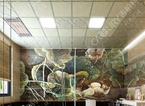吉柏利顶墙卫生间吊顶装修案例图赏析