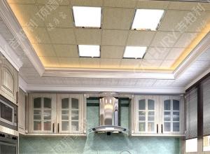 吉柏利顶墙厨房餐厅吊顶装修效果图赏析 (16)