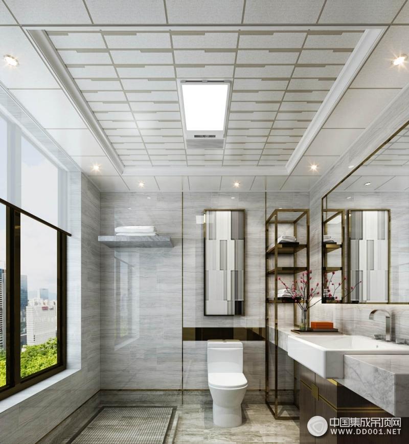 巴迪斯顶墙集成卫生间吊顶装修效果图