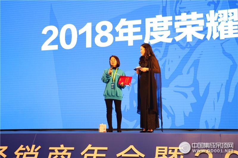 """""""稳进2019""""顶善美净化吊顶核心经销商年会——颁奖盛典"""
