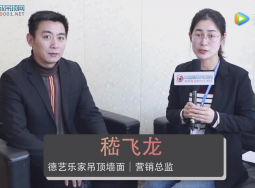 访德艺乐家营销总监嵇飞龙:优化市场 扩大规模,抢占2019 (891播放)