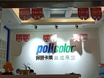 保丽卡莱顶墙装饰家江西宜春专卖店