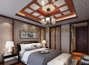 今顶集成吊顶卧室吊顶装修效果图,卧室简约风装修图