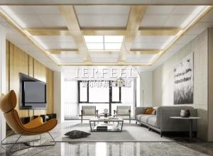 爱尔菲集成吊顶现代简约风全屋吊顶装修效果图