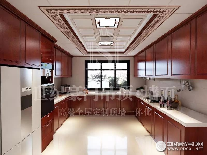 世纪豪门现代的厨房吊顶装修效果图