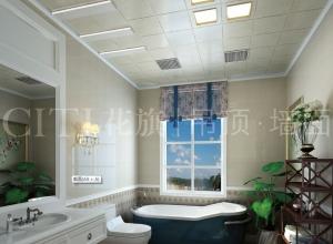 花旗厨房与卫生间吊顶效果图,家庭装修的热门选项
