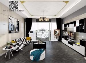 索菲尼洛吊顶经典黑白色系装修图,永不落幕的时尚!