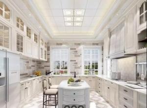美郝嘉时尚吊顶分享3款不同风格的厨房装修效果图