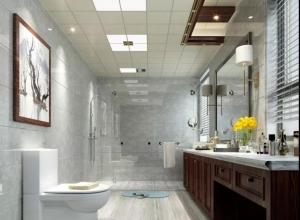 美郝嘉时尚吊顶浴室吊顶现代简约风装修图