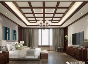 美郝嘉卧室吊顶各风格装修图,百看不厌的风格卧室图