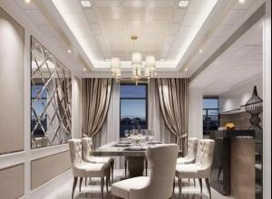 美郝嘉时尚吊顶给你5款风格各异餐厅顶装修图