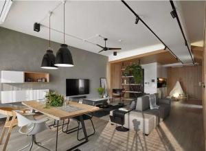 客厅吊顶用灯具装饰顶面装修效果图