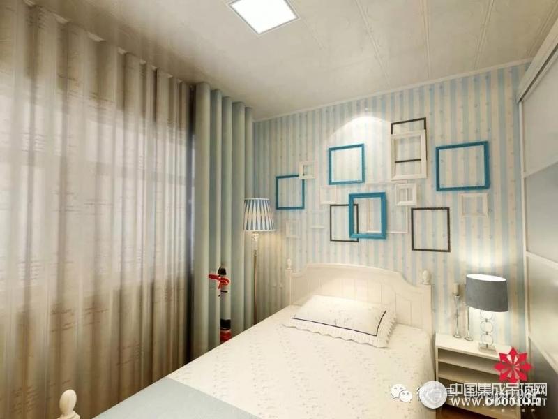 奔腾吊顶儿童房吊顶装修效果图,卧室效果图
