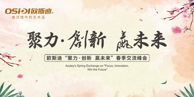 """欧斯迪""""聚力·创新 赢未来""""春季交流峰会"""