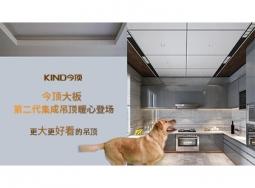 """今顶第二代集成吊顶""""大板系列""""暖心登场"""