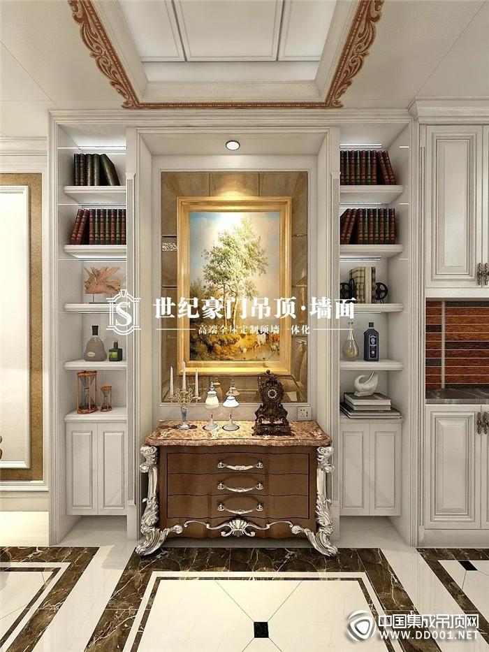 低调奢华的欧式古典装修,优美尽在世纪豪门