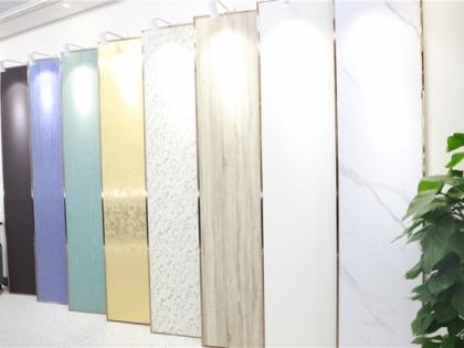 墙板材料展示