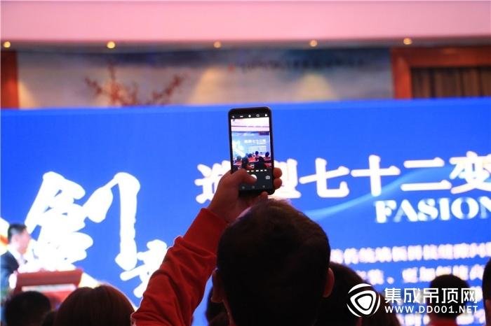 """""""领跑2019 追梦顶墙未来""""德艺乐家核心经销商峰会暨新品发布会——会议现场"""
