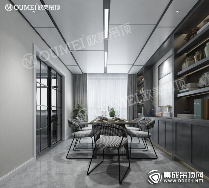 欧美吊顶2019新品铝蜂窝大板装修图片