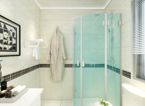 奥华生态吊顶欧式风格浴室顶装修效果图,2019浴室吊顶新品