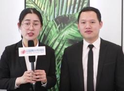 上海建博会专访:世纪豪门常务副总黄伟专访