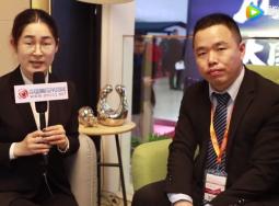 北京建博会:美而雅顶墙集成营销总监高波采访视频