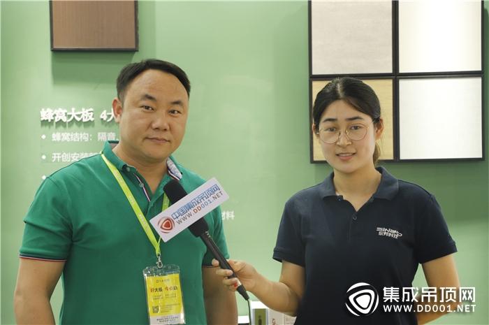 【嘉兴展专访】大自然温莎堡吊顶邓伟:以大牌为依托,达成市场占有
