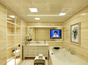 雷士照明欧式风格吊顶装修图片,欧式浴室吊顶效果图