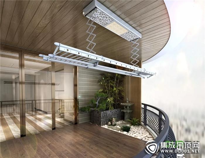 阳台不要只种菜,装奥华集成吊顶才最实在!