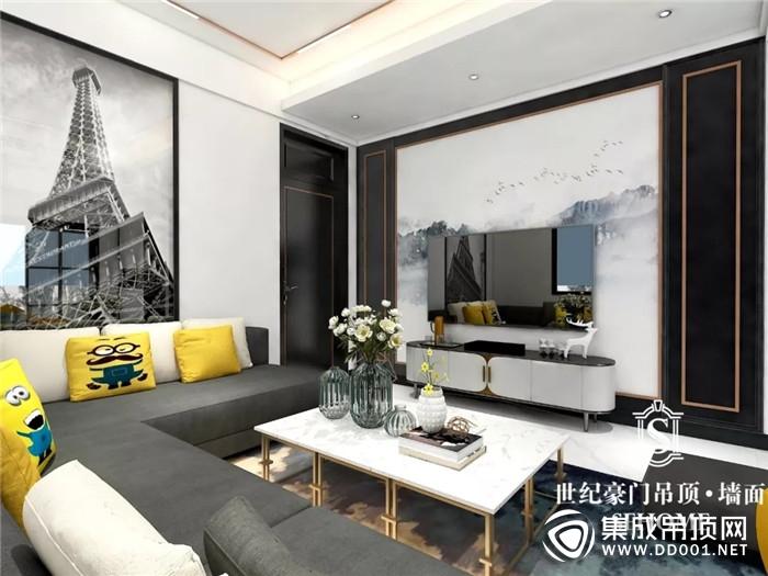 极简到轻奢 世纪豪门顶墙为你打造无与伦比的客厅传奇