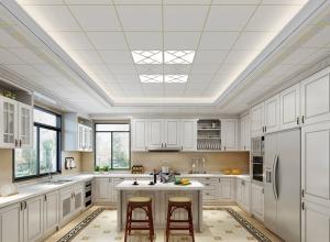 好太太集成吊顶厨房现代风装修效果图