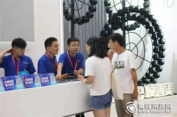 引爆全场!顶善美吊顶广州建博会技术与艺术双双升级!