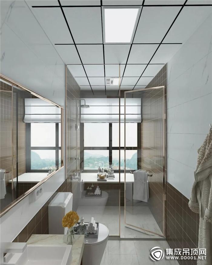 世纪豪门奢简系列 让卫浴空间成为一副艺术作品