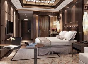名族吊顶卧室整体装修效果图,卧室简约风图片