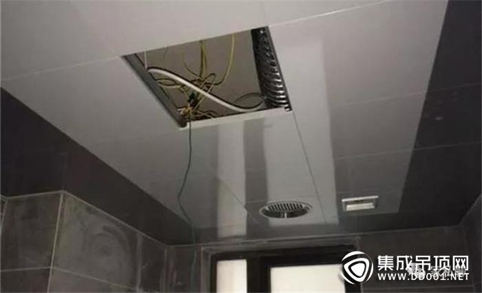 装修集成吊顶需要注意的事项!