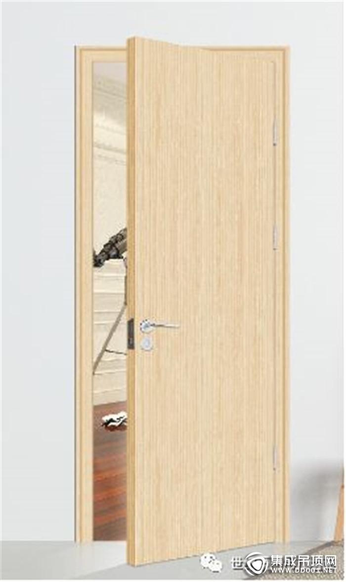 世纪豪门的美观木门将家的风格体现得更加淋漓尽致!