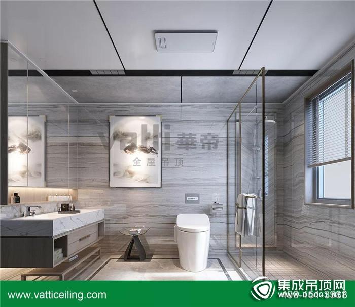 华帝高端全屋吊顶告诉你卫生间吊顶的装修方法!