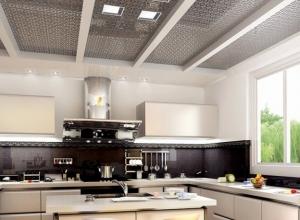 金牌集成吊顶厨房装修效果图