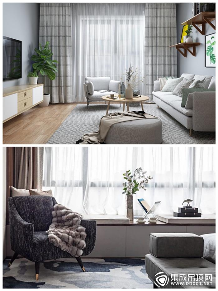 宝仕龙大板全景顶美化你家客厅颜值,提升生活质感!