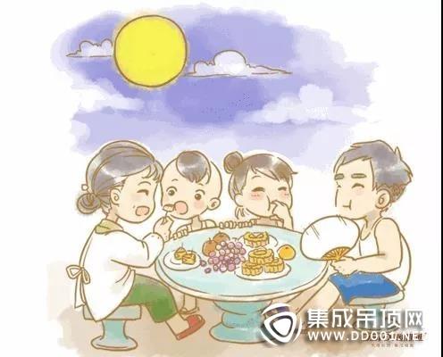 月光所照 皆是故乡,欧斯迪顶墙集成祝大家中秋快乐阖家团圆!