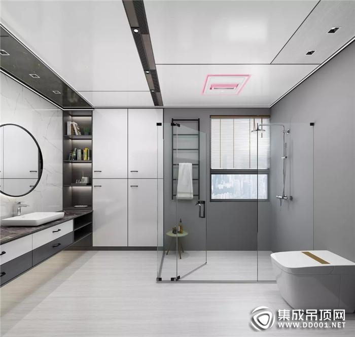奥华御尊1号浴室暖空调,给你一个舒适又安全的浴室!