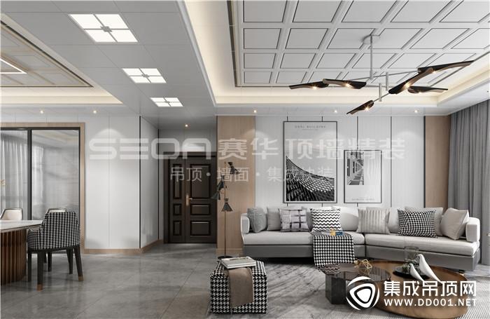 赛华顶墙精装教你如何选购集成吊顶扣板!