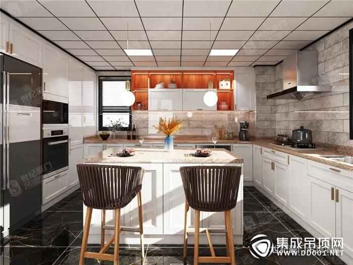 世纪豪门集成吊顶让厨房有热度 让生活有温度!