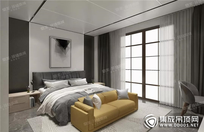 """鼎美顶墙集成在家装上做""""减法"""",演绎现代极简风格!"""